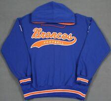 Denver Broncos Vintage 90's Starter Script Spell Out Pullover Hoodie Large