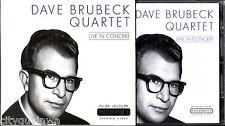DAVE BRUBECK QUARTET Live in Concert 2001 Silver Line Germany Import CD Jazz