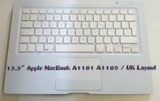 """MACBOOK A1181 A1185 13"""" PALMREST, TOPCASE, TOUCHPAD, UK LAYOUT KEYBOARD"""