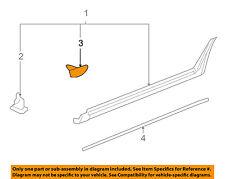 GM OEM Exterior-Rocker Molding Retainer 10431761