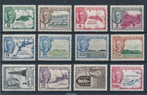 [51247] Virgin Islands 1952 good set MH Very Fine stamps
