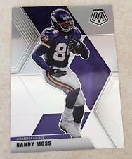2020 Panini Mosaic Randy Moss Silver SP  #133 Minnesota Vikings