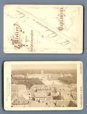 TH. Schumann u. Sohn, Carlsruhe (Karlsruhe) CDV vintage albumen. Germany  Tira