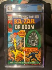ASTONISHING TALES #6 CGC 9.2 KA-ZAR DR. DOOM BLACK PANTHER JOHN BUSCEMA 6/1971