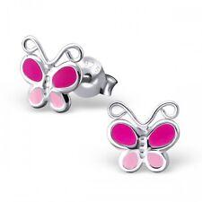 Sterling Silver Butterfly  Ear Studs stud earrings
