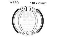 FIT YAMAHA XC 125 E Vity (4P7) 08>13 EBC Plain Shoe Rear Left