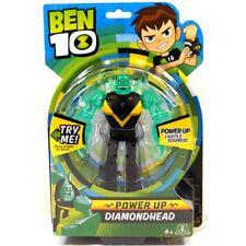 Ben 10 Deluxe Power Up Figures - Diamondhead UK Stock BEN01310 4 Years+ NEW