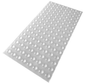 128 Mini Clear Self Adhesive Domed Rubber Feet, Bumper Stops for Coasters & More