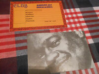 FATS DOMINO ROCK AND ROLL CARD FAN CLUB SPAIN SPANISH 80'S