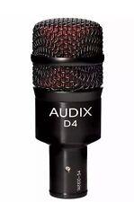Audix D4 Instrument Mic Drum Microphone #580