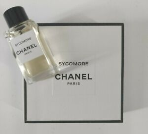 Chanel Sycomore  Eau De Parfum  4ml 0.12 Fl Oz Travel Size Miniature NEW In Box