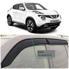 Wide Window Visors Side Guard Vent Deflectors For Nissan Juke (YF15) 2010-2018