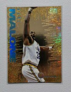 1995 SKYBOX International KARL MALONE NTENSE Gold Foil Insert Card 5 Of 10 Jazz.