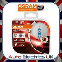 2x OSRAM H7 Night Breaker Laser (Next Generation) +150% Car Headlight Bulbs 477