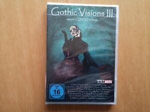 Gothic Visions Vol. 3    (NEU/OVP)    ---DVD + CD---    FSK:16