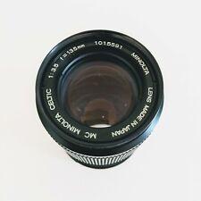 MC Minolta Camera Lens celtic 1:35 f = 135mm Lens SLR Lens