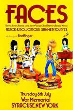 The Faces Rock & Roll Circus POSTER 1972 Tour Rare