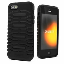 Cygnett CY0871CPBUL Bulldozer Silicone Case for iPhone 5/5S/SE Black
