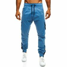 Pantaloni da uomo medio blu taglia XL