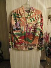 Women's EUC Jane Ashley Destination Set 2pc Sequined Jacket Hoodie & Top
