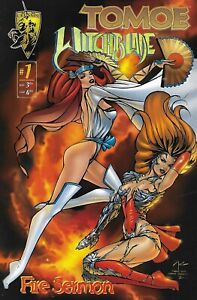 Tomoe Witchblade Comic 1 Fire Sermon Cover A Billy Tucci First Print 1996 .