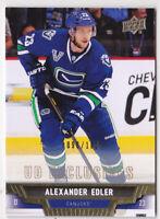 13-14 Upper Deck Alexander Edler /100 UD Exclusives Canucks 2013