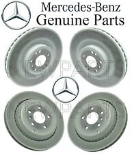 For Mercedes W164 X164 ML GL R Set 2 Front & Rear Disc Brake Rotors Kit Genuine