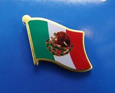 BRAND NEW Lapel Pin Mexico Flag Green White Red 1""