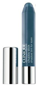 Clinique Chubby Stick Shadow Tint For Eyes 10 BIG BLUE FULL SIZE NIB