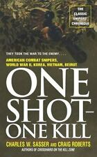 One Shot-One Kill Book~American Combat Snipers in WW2~Korea~Vietnam~Beirut~NEW