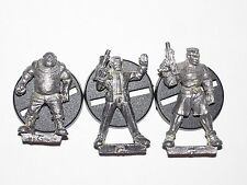 MOONRAKER MINIATURES FUTURE WARS 28MM STREET PEOPLE X 3