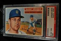 1956 Topps - #84 - Babe Birrer - PSA 8 - NM-MT