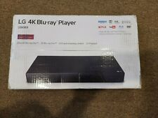 LG 4K Smart WiFi UHD 4K Ultra HD Blu-ray & DVD Player UBKM9