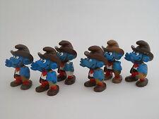 Varianten Cowboy Schlumpf - rar ! - variations : cowboy smurf !