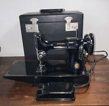 Vintage Featherweight 221k Centennary Singer Sewing Machine 1950 VGC
