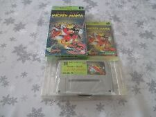 >> MICKEY MANIA ACTION SFC SUPER FAMICOM JAPAN IMPORT COMPLETE IN BOX! <<