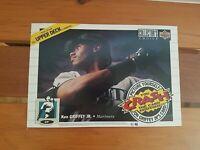 1994 UPPER Deck KEN GRIFFEY JR. Display Promo Crash the card MINT NEVER OPENED.