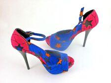 Shoes, Women's High Heel Stilettos, Glitz, Size 8 Platform, 5-Inch Heel Height