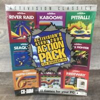 Activision Classics Atari 2600 PC Windows CD-ROM Game Sealed IBM Big Box Games
