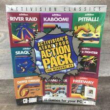 Activision Classics Atari 2600 PC Windows CD-ROM Game Sealed IBM Big Box Games