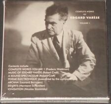 Edgar Varèse complete works of vol 1 UK 3-CD BOX SET 2018 new sealed FRANK ZAPPA