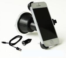 KFZ Auto Handy Halterung Halter für Apple iPhone SE 5 5s mit PKW Navi Ladekabel