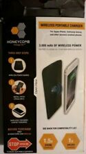 Honeycomb DASH30WC Wireless Portable Charger with 3000mAh Battery, Black