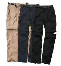Craghopper Mens Kiwi Zip-Off Convertible Trousers / Shorts Walking Light Weight