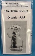 O SCALE/On3/On30 WISEMAN MODEL SERVICES #BB4092 ORE TRAM BUCKET KIT