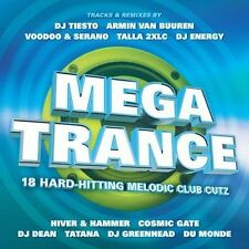 V/A-Mega Trance-`Dj Tiesto,Armin Van Buuren,Voodoo&Serano,Talla 2Xlc,Dj D CD NEW