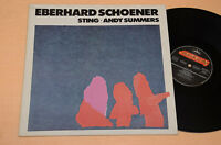 EBERHARD SCHOENER LP ELECTRONIC AVANTGARDE MUSIC 1°ST ORIG AUDIOFILI NEAR MINT
