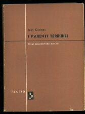 COCTEAU JEAN I PARENTI TERRIBILI  ROSA E BALLO 1947 TEATRO MODERNO 32