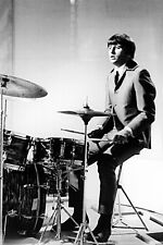 RINGO STARR ON DRUMS THE BEATLES 36X24 POSTER PRINT