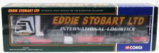 Corgi 1/50 Scale Model Truck CC13401 - MAN TGA Curtainside - Eddie Stobart Ltd.
